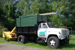 Vermont Tree Cutting Services Truck